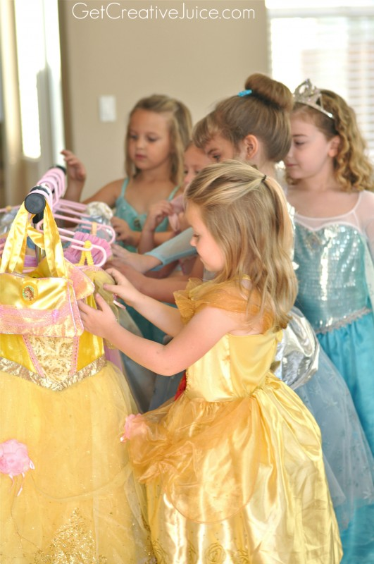 Belle Princess Party Dress up
