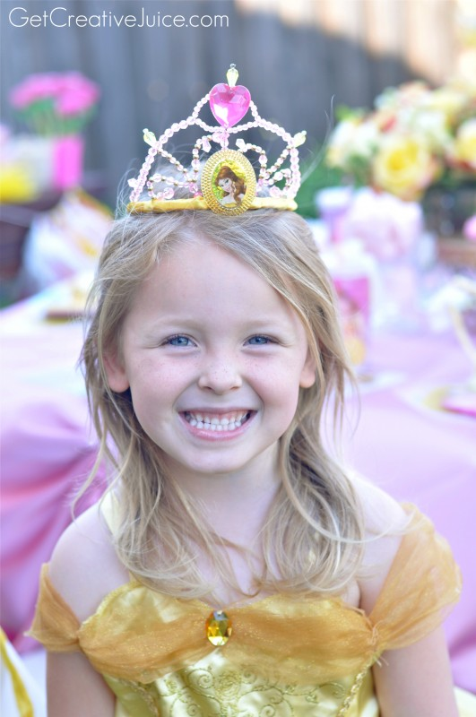 Belle Princess Party Dresses and Tiara