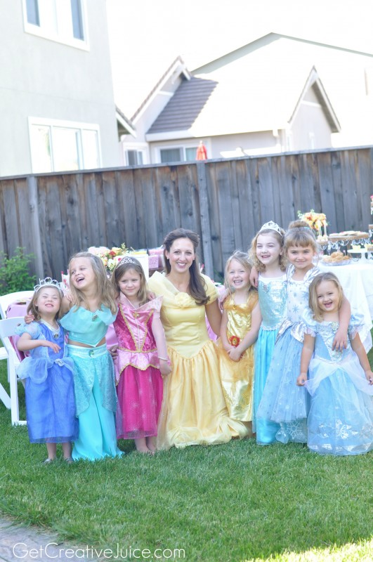 Belle Princess Party Ideas!