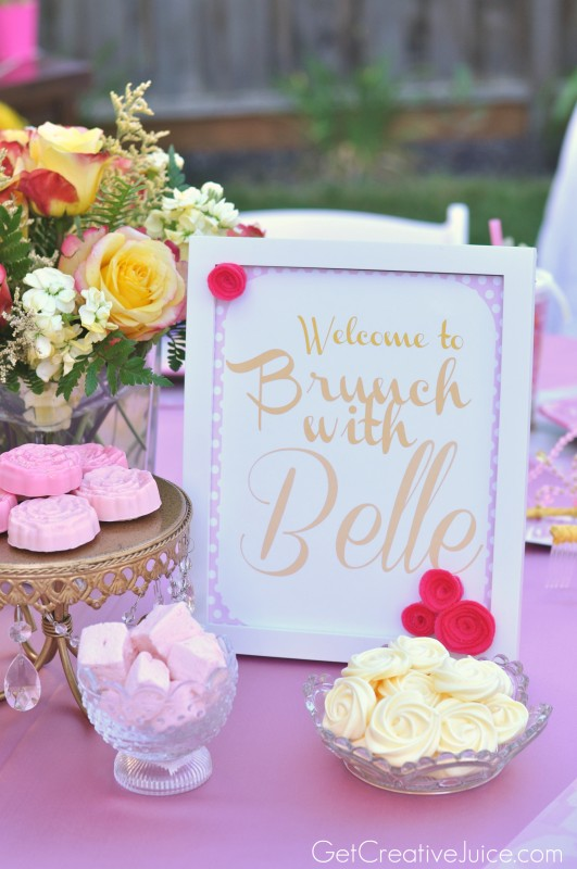 Bunch with Belle - Princess Party ideas