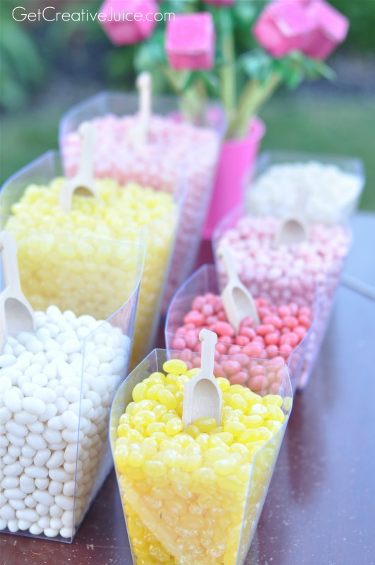 Jelly Bean Favor Bar