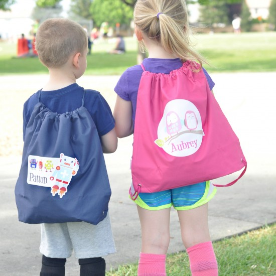 Personalized Bags for Kids + Water Bottles for Kids