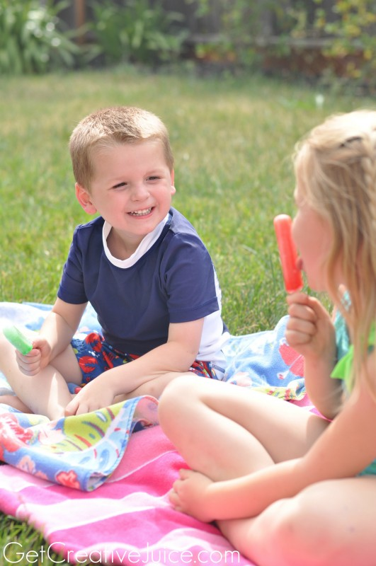 Popsicle rules for being a kid