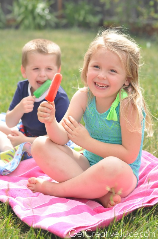 Popsicle rules for being a kid this summer!