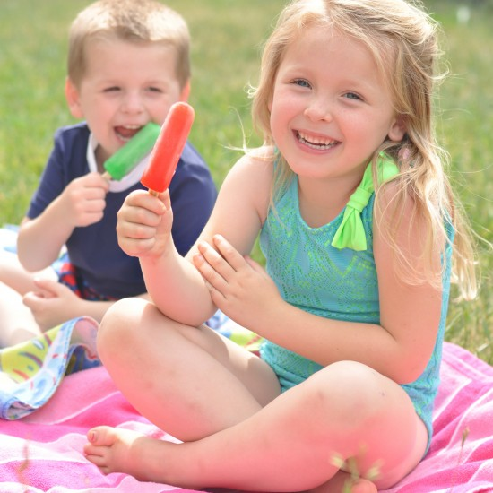 Top Ten Rules for Being a Kid this Summer with Popsicle!