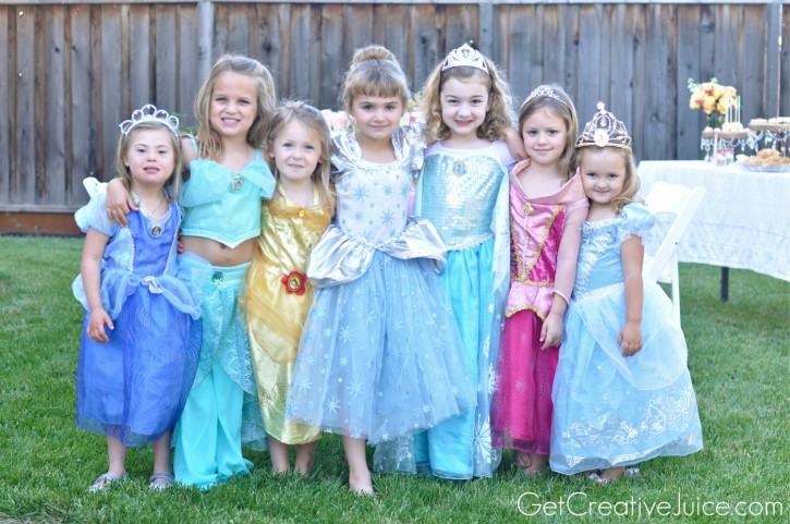 Princess Party Dress up