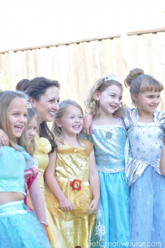 Princess Party Ideas with Belle!
