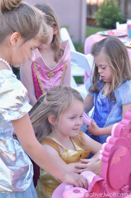 Princess Party Makeovers!