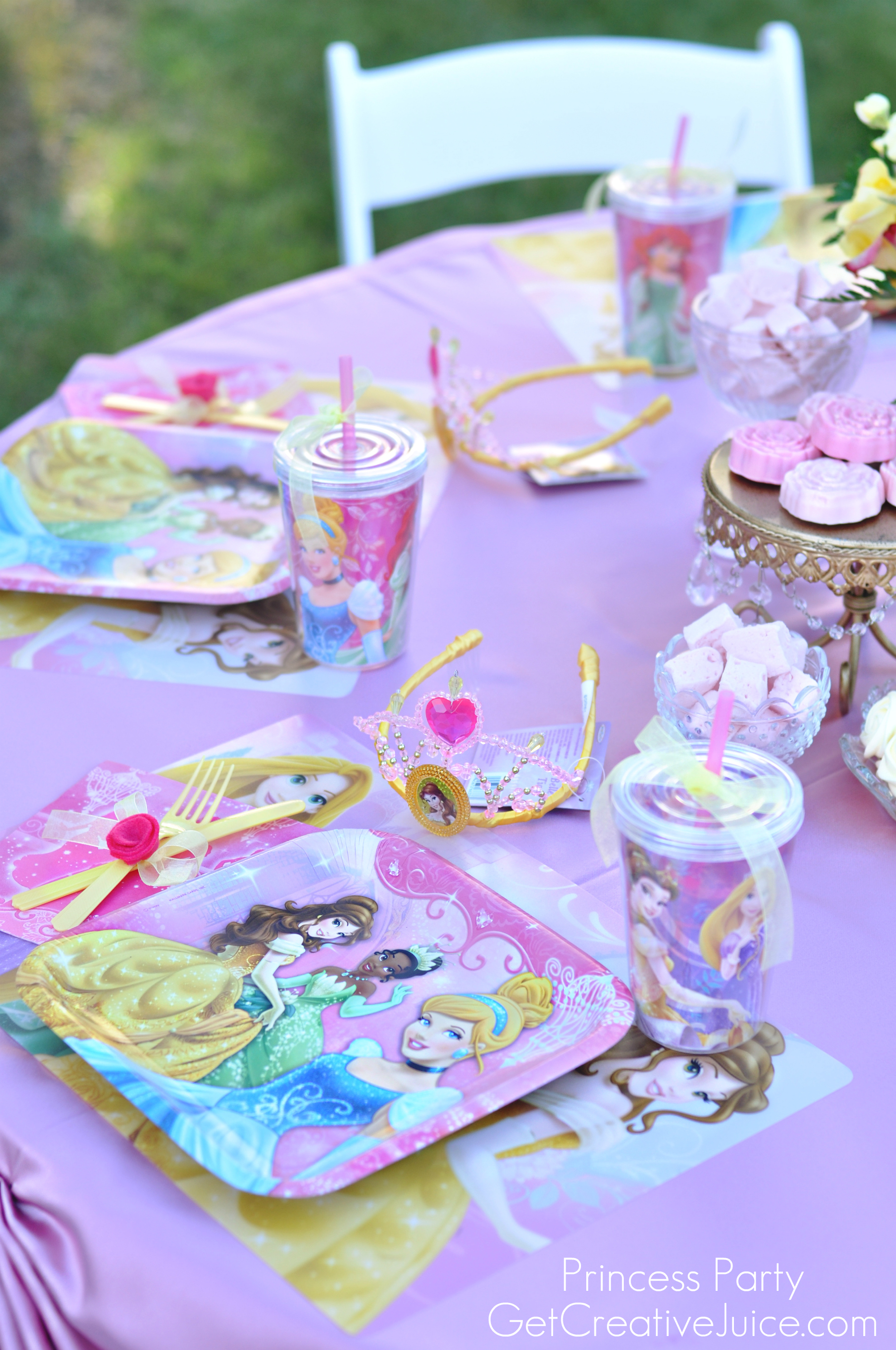 Disney Princess Party with Belle Part 2 Creative Juice
