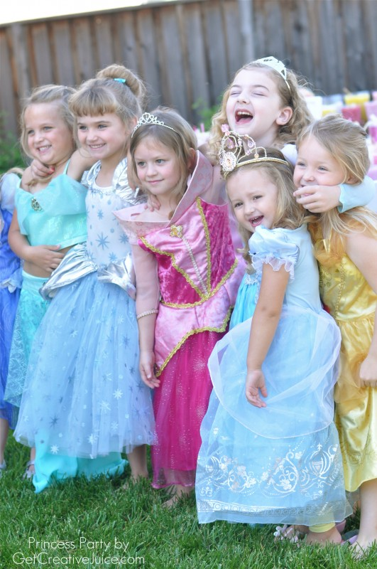 Princess party ideas- food decorations and more
