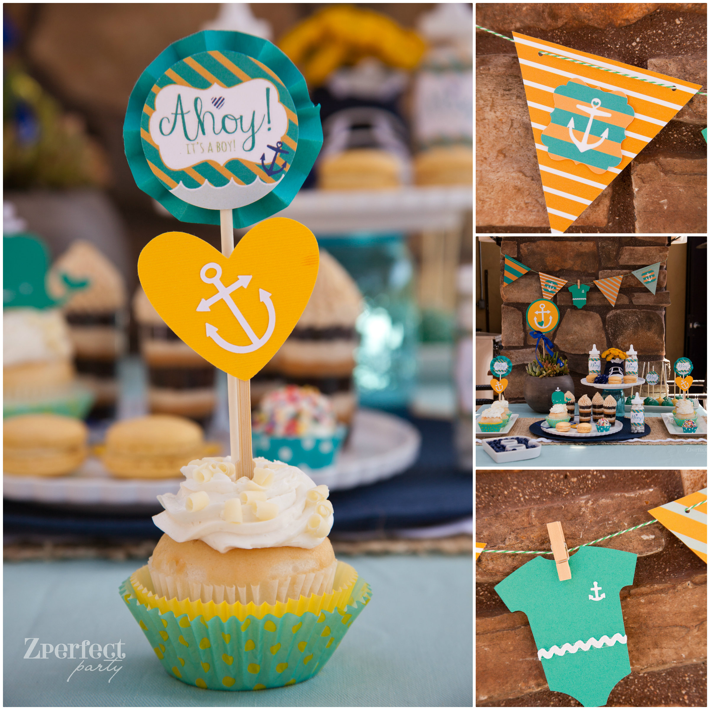 party Ahoy It s a Boy Nautical Baby Shower Creative Juice