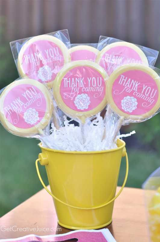 custom lollipops for party favors