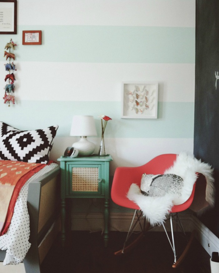 how to paint cabana stripes on walls trending tuesday diy