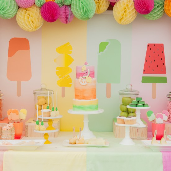{Featured Party} Summer Popsicle Party Ideas