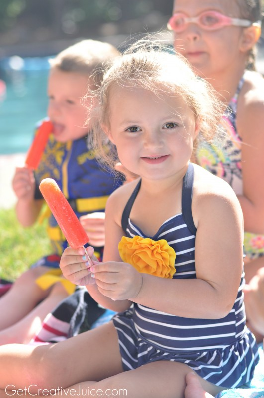 Pool Party with Popsicle