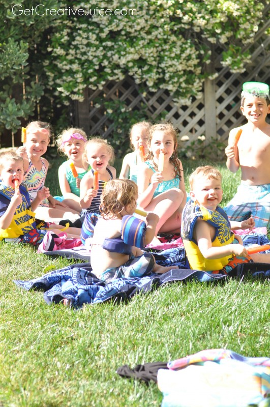 Popsicles and Pool Parties!