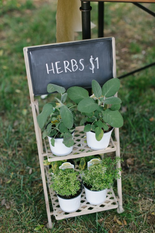 The World is Your Market Herbs Stand