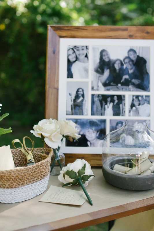 The World is Your Market Graduation Party, Photo Frame of memories, flower pen, Words of Encouragement