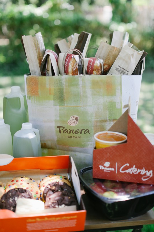 The World is Your Market Graduation Party, Panera Catering, Sandwiches, Cookies, Soup, Drinks