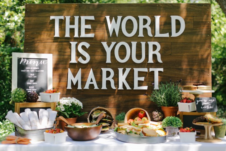 The World is Your Market Graduation Party