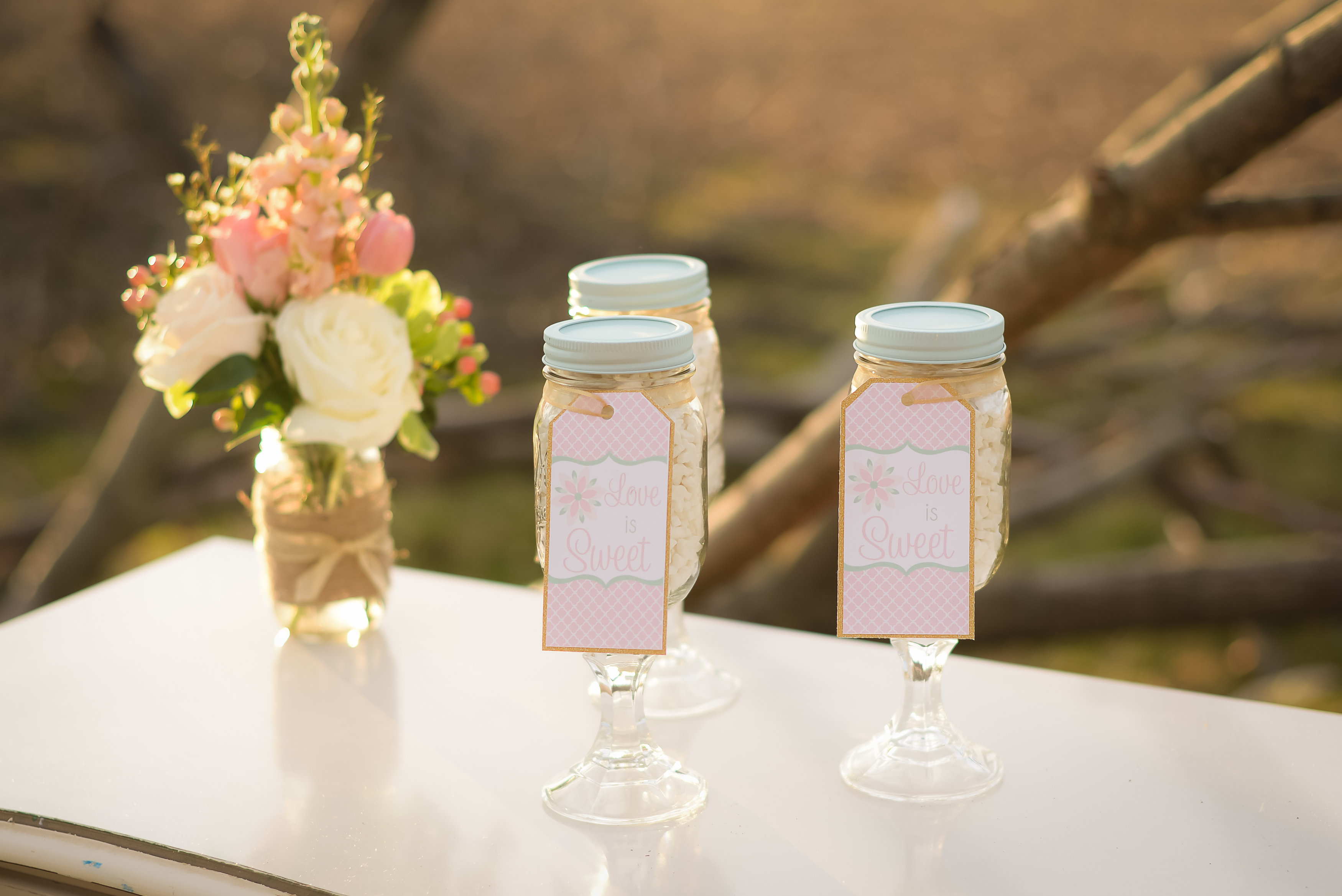 Wedding Party Favors 92 Perfect  love rustic glam