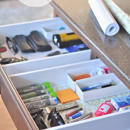 His & Hers Junk Drawers
