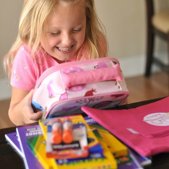Back to School with Personalized School Supplies
