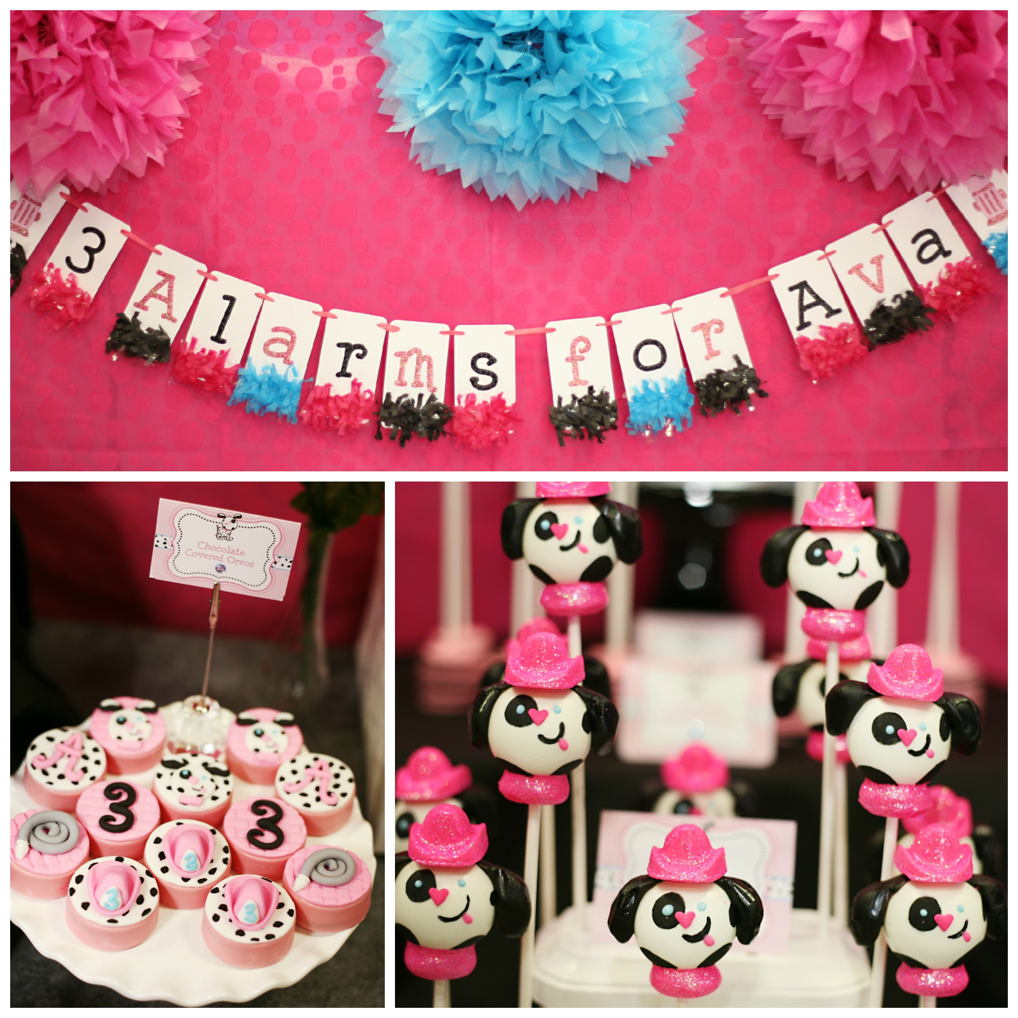 Girly Pink Firefighter Party!