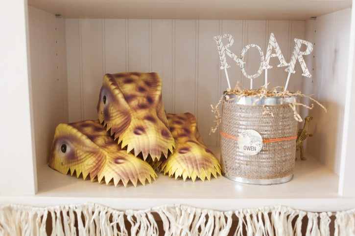 Dinosaur Party, Dinosaur Mask, Hat, ROAR toppers