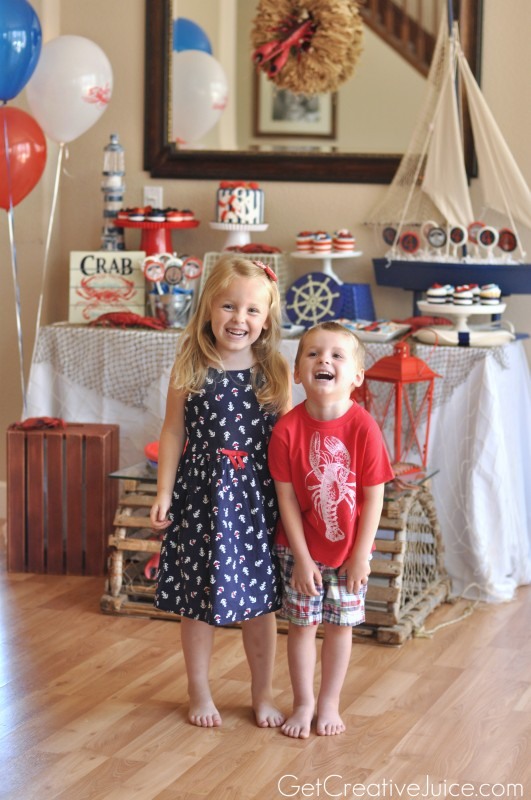 Nautical Birthday Party Clothes for Kids