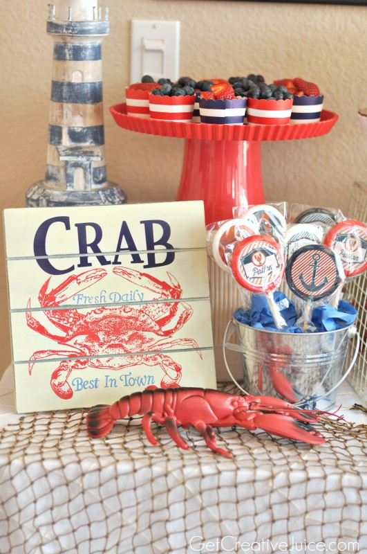 Nautical Birthday Party Decorations