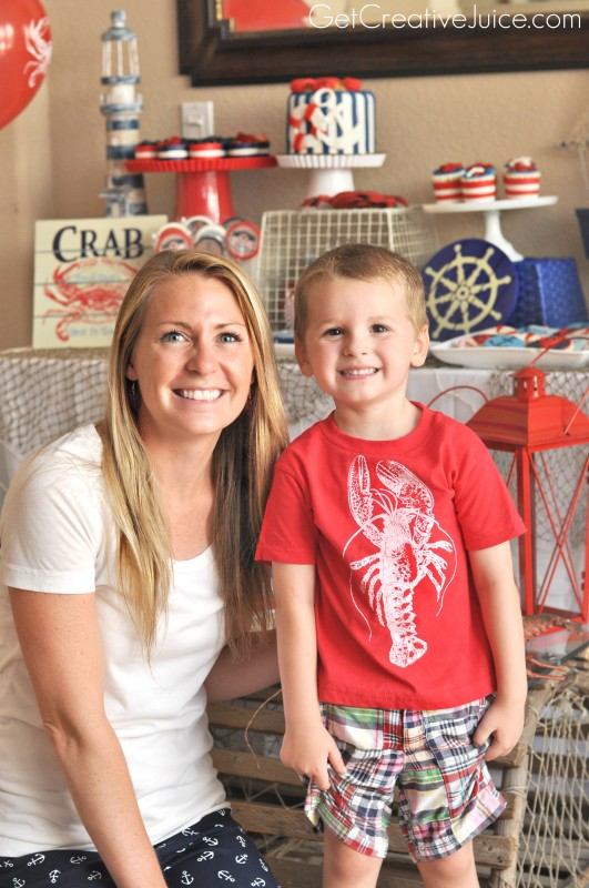 Nautical Birthday Party Ideas!