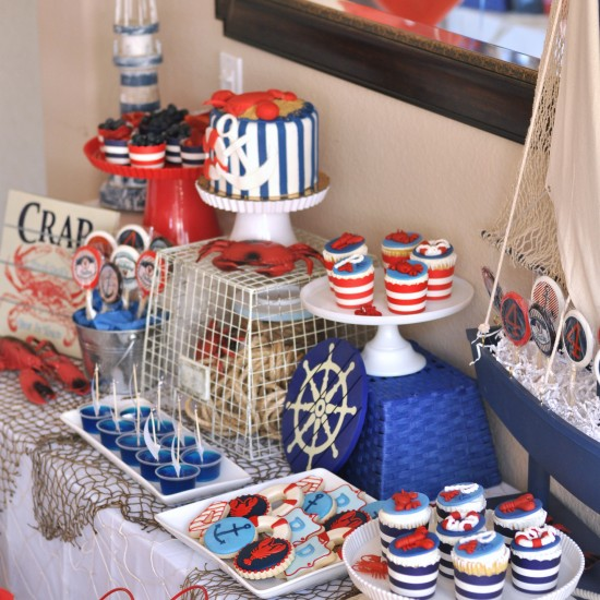 {Party} Nautical Lobster Party