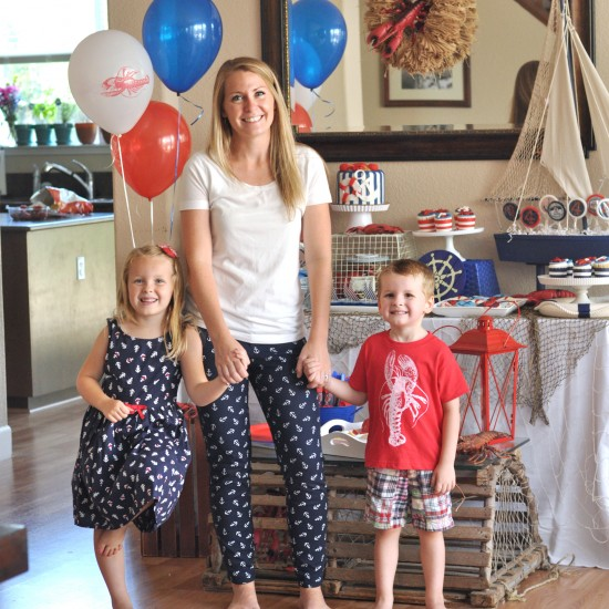 {Party} Nautical Lobster Party – part 2