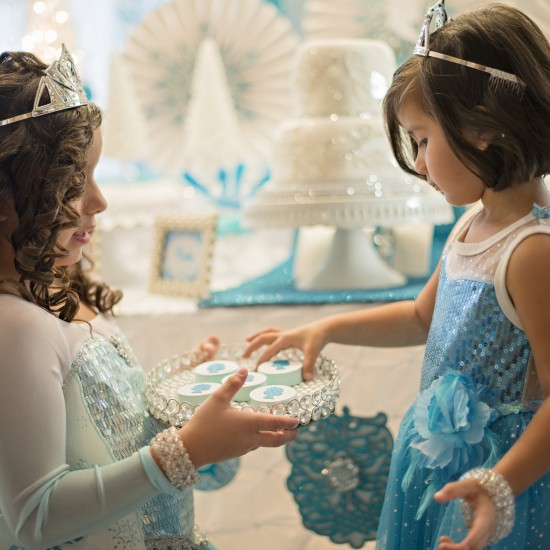 Sparkle, Glitz, & Glam Frozen Party Ideas