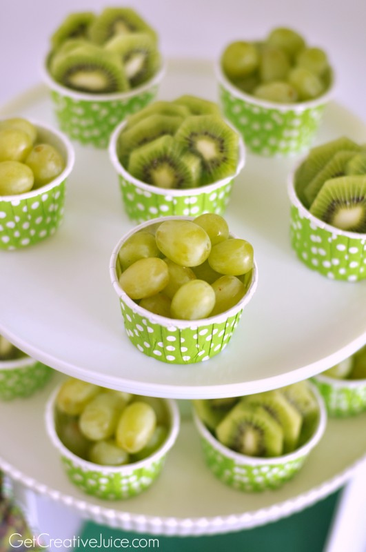 Green Party Fruit Cups