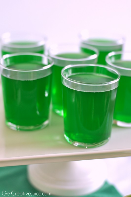 Green TMNT jello