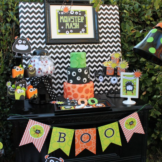 Halloween Monster Mash Party