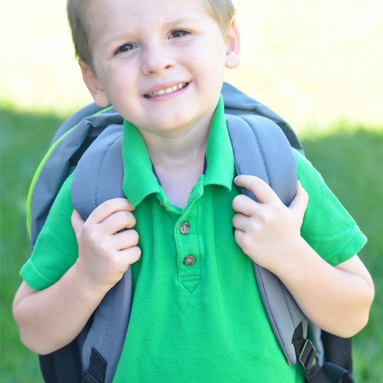 Patton's First Day of School!