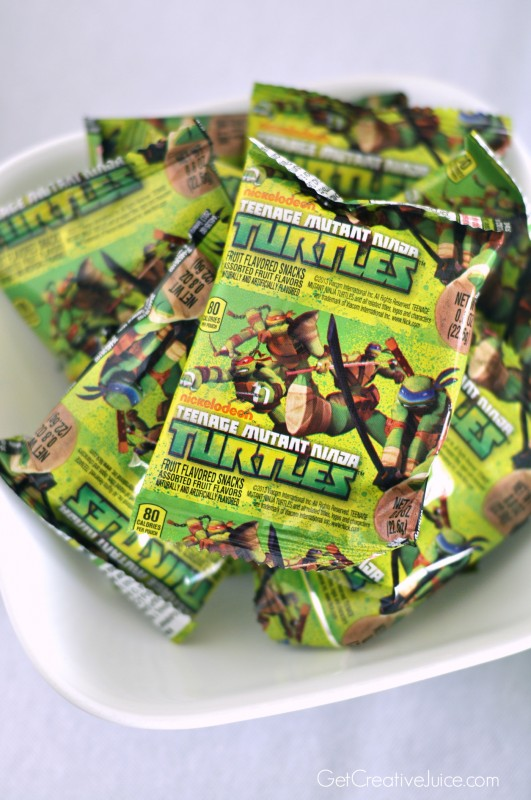TMNT fruit snacks