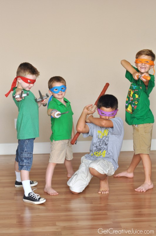 TMNT party dress up!