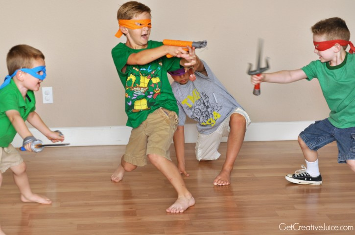 TMNT party dress up
