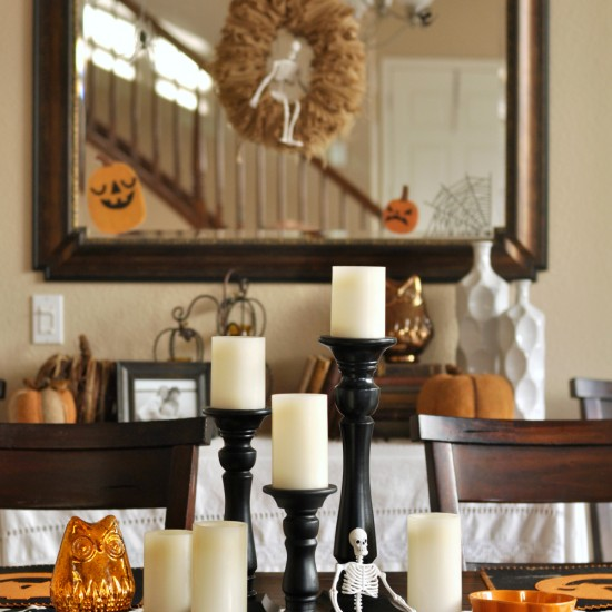 halloween decorations home tour quick and easy ideas - Quick Halloween Decorations