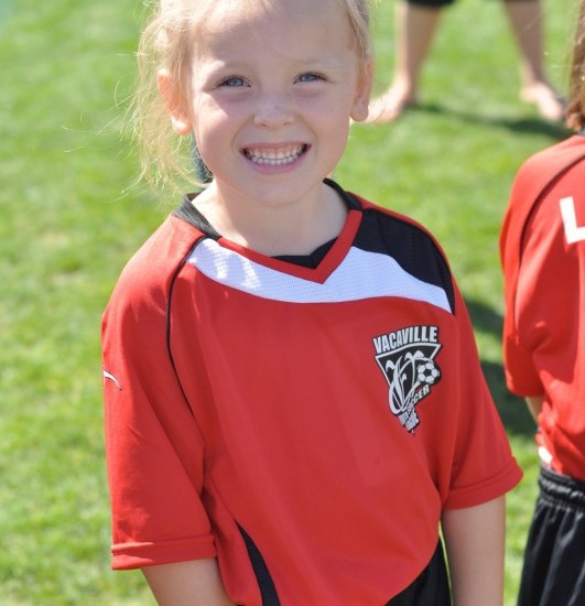 Fueling a better future: My little soccer girl!