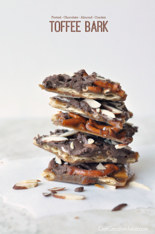 Chocolate Kix Toffee Bark Recipes — Dishmaps