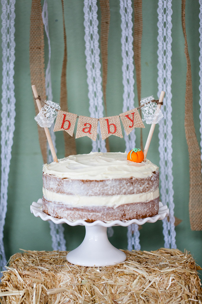 Baby Shower Cakes Neutral