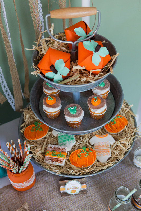 Rustic Little Pumpkin Baby Shower Creative Juice