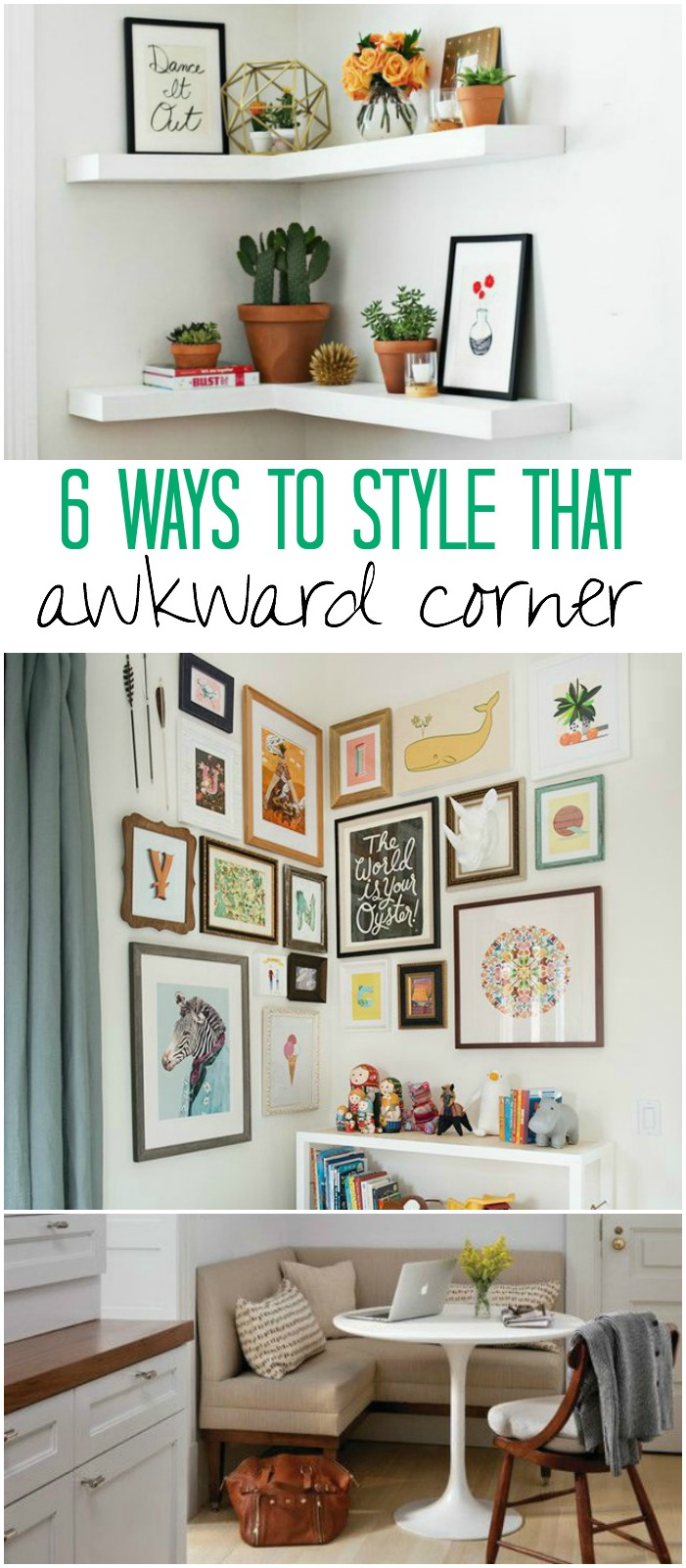 How to style corners in your home