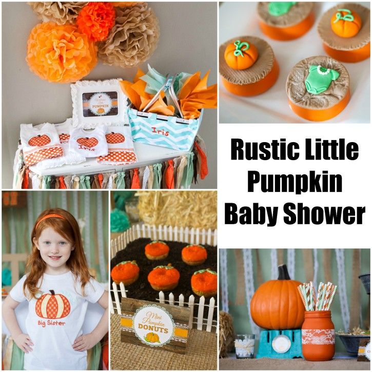 Rustic Fall Little Pumpkin Baby Shower