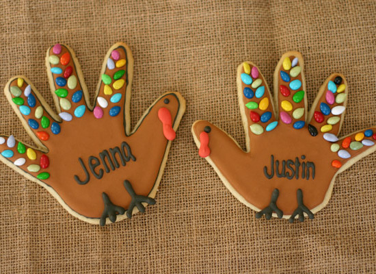Handprint Turkey Cookies Tutorial